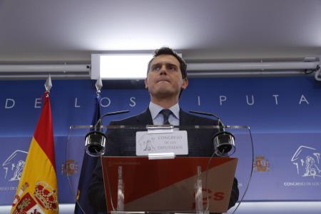 ALBERT RIVERA EN RUEDA DE PRENSA TRAS CONOCERSE LA SENTENCIA DEL PROCES
