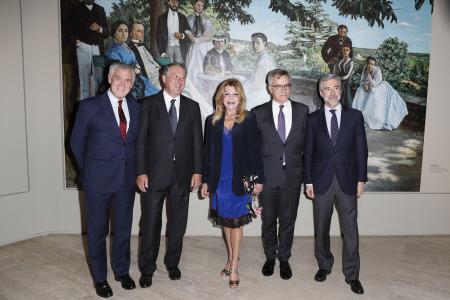 """INAUGURACION DE LA EXPOSICION """"IMPRESIONISTAS"""" EN EL MUSEO THYSSEN"""