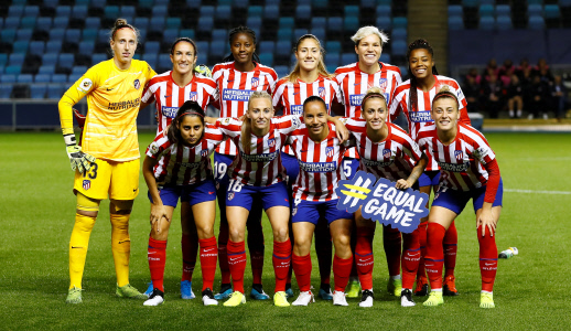 WOMEN´S CHAMPIONS LEAGUE : MANCHESTER CITY VS ATLETICO DE MADRID