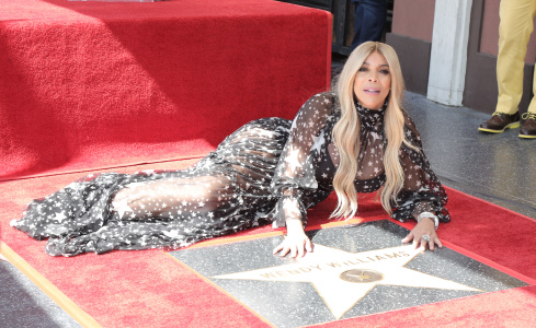(SPLASH) WENDY WILLIAMS YA TIENSU ESTRELLA EN EL PASEO DE LA FAMA