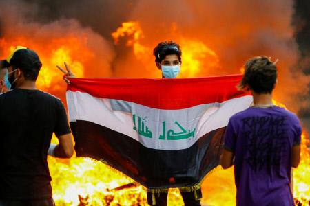 GRAVES INCIDENTES EN BAGDAD, IRAQ