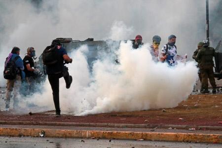 NUEVAS MOVILIZACIONES EN CHILE
