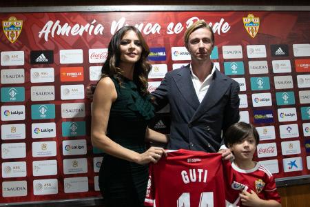 JOSE MARIA GUTIERREZ ''GUTI' PRESENTADO COMO NUEVO ENTRENADOR DEL ALMERIA