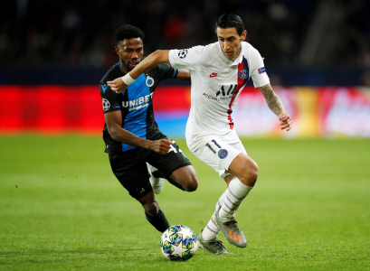 CHAMPIONS LEAGUE: PSG  VS BRUJAS