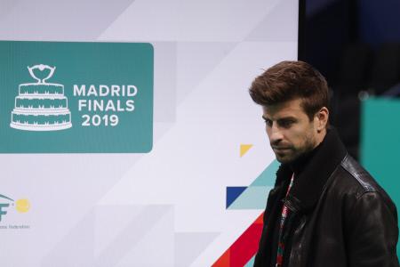 GERARD PIQUE PRESENTA LA COPA DAVIS 2019 EN MADRID