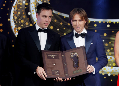 LUKA MODRIC GANA EL GOLDEN FOOT AWARDS 2019