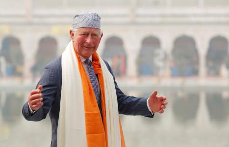 EL PRINCIPE CARLOS VISITA NUEVA DELHI