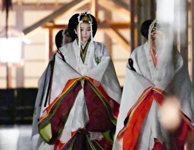 CEREMONIA DE AGRADECIMIENTO EN EL PALACIO IMPERIAL JAPONES