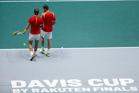 COPA DAVIS: ESPAÑA VS ARGENTINA