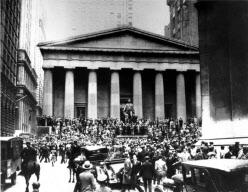 Caida de la Bolsa de Nueva York en  1929