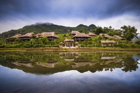 MAI CHAU, PRIMER HOTEL ECOLOGICO DE LUJO EN VIETNAM