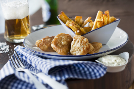 RECETA PASO A PASO: FISH AND CHIPS
