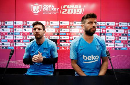RUEDA DE PRENSA DEL FC BARCELONA