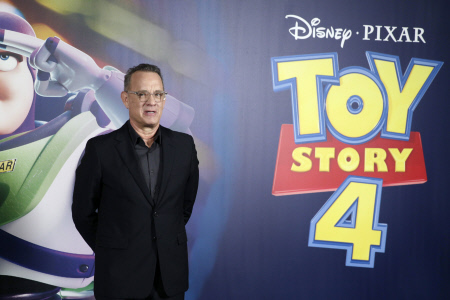 TOM HANKS EN EL PHOTOCALL DE LA PELICULA ''TOY STORY'' EN BARCELONA