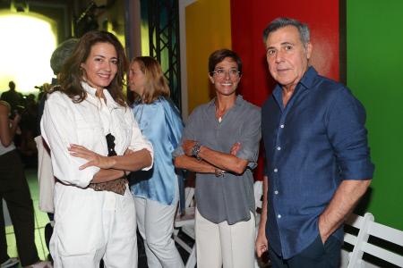 FBFW:FAMOSOS CIBELES MADRID FASHION WEEK  DESFILE ''LEXDEUX''