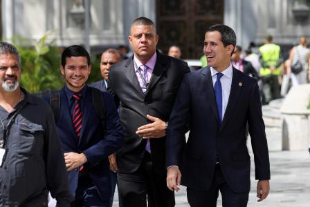LOS DELEGADOS DE GUAIDO REGRESARAN A BARBADOS PARA SEGUIR NEGOCIANDO CON EL REGIMEN DE MADURO