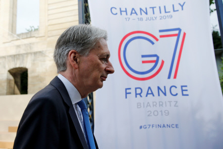 REUNION FINANCIERA DEL G7 EN FRANCIA