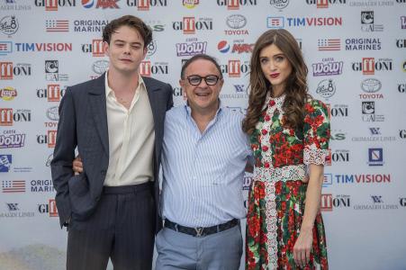 CHARLIE HEATON Y NATALIA DYER PROTAGONISTAS EN EL FESTIVAL DE CINE DE GIFFONI