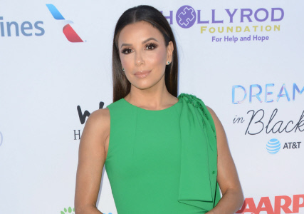 "(SPLASH) EVA LONGORIA MUY ELEGANTE EN UN EVENTO DE LA FUNDACION ""THE HOLLYROD"""