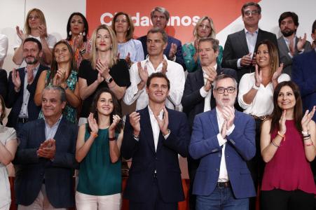 ALBERT RIVERA EN REUNION EXTRAORDINARIA DEL CONSEJO GENERAL DE CIUDADANOS