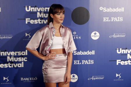 AITANA OCAÑA EN EL PHOTOCALL DEL UNIVERSAL MUSIC FESTIVAL