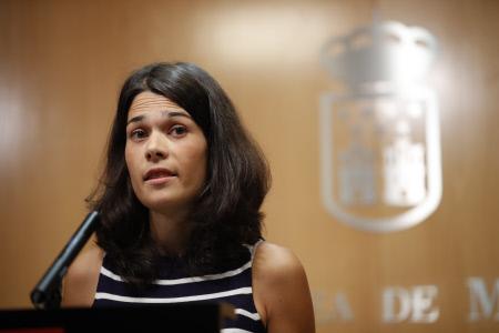 ISABEL SERRA EN RUEDA DE PRENSA TRAS RONDA DE CONSULTAS
