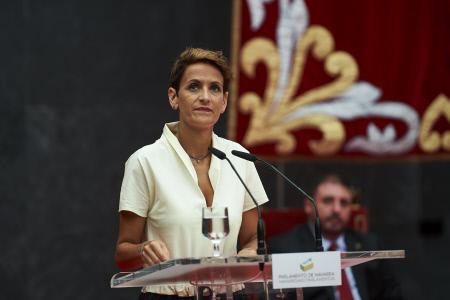 MARIA CHIVITE TOMA POSESION COMO PRESIDENTA DEL GOBIERNO DE NAVARRA
