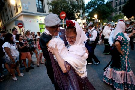 COMIENZAN EN  MADRID LAS ESPERADAS VERBENAS