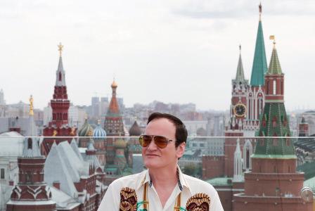 QUENTIN TARANTINO EN EL PHOTOCALL DE ''ONCE UPON A TIME HOLLYWOOD'' EN MOSCU