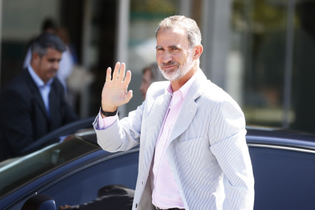 EL REY FELIPE VI Y LA REINA SOFIA DE GRECIA VISITAN AL REY EMERITO JUAN CARLOS I