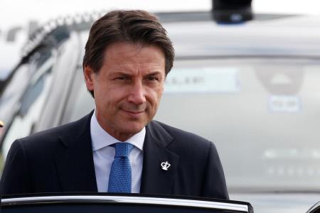 EL PRIMER MINISTRO ITALIANO LLEGA A BIARRITZ CON MOTIVO DE LA CUMBRE DEL G7