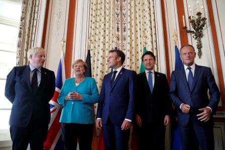 LOS LIDERES DEL G7 SE REUNEN EN LA CUMBRE DE BIARRITZ