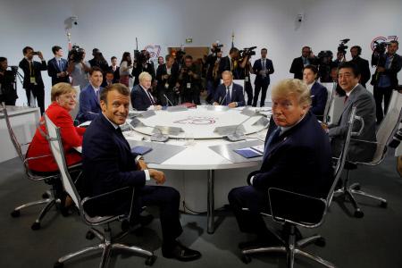 CUMBRE DEL G7 EN BIARRITZ