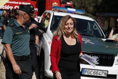 LA DELEGADA DEL GOBIERNO DE MADRID COMPARECE EN RUEDA DE PRENSA POR LA DESPARICION DE BLANCA FERNANDEZ OCHOA