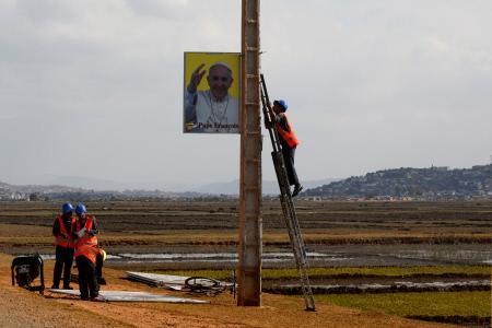 MADAGASCAR PREPARA LA PROXIMA VISITA DEL PAPA