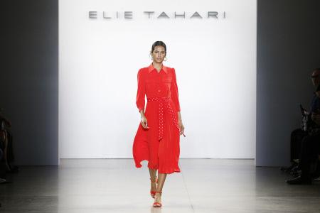 (SPLASH) NYFW: DESFILE DE LA FIRMA ELIE TAHARI