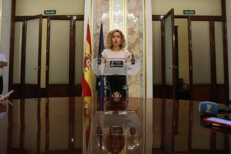 CONGRESO: RUEDA DE PRENSA MERITXELL BATET