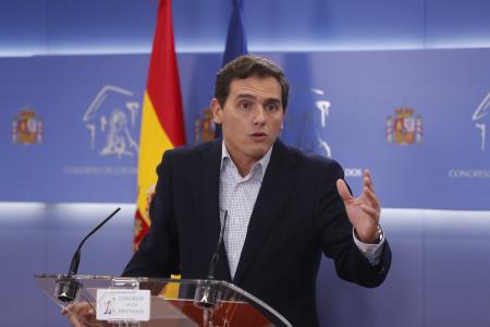 CONGRESO: RUEDA DE PRENSA ALBERT RIVERA