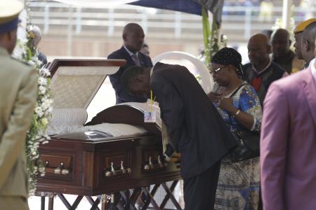 FUNERAL DEL EX PRESIDENTE DE ZIMBABWE ROBERT MUGABE
