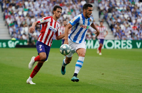 LA LIGA: REAL SOCIEDAD VS ATLETICO MADRID
