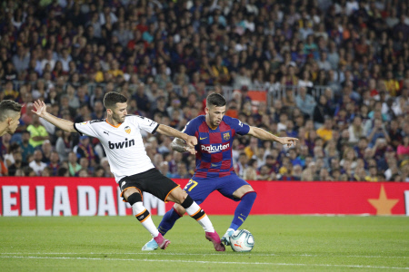 LA LIGA: FC BARCELONA VS VALENCIA CF