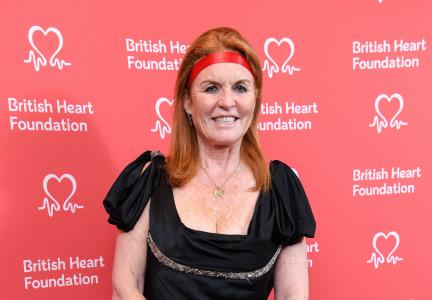 SARAH FERGUSON ACUDE A LOS PREMIOS BRITISH HEART
