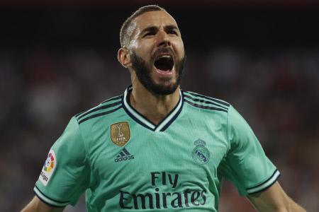 LA LIGA: SEVILLA VS REAL MADRID (0-1)