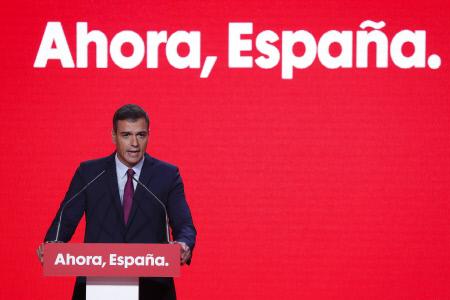 PEDRO SANCHEZ PRESENTA EL LEMA DE CAMPAÑA DEL PSOE