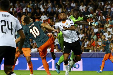CHAMPIONS LEAGUE: VALENCIA CF VS AFC AJAX