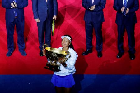 TENIS: NAOMI OSAKA VENCEDORA DEL OPEN DE CHINA EN BEIJING