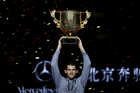 TENIS: DOMINIC THIEM GANA EL OPEN DE CHINA DE BEIJING