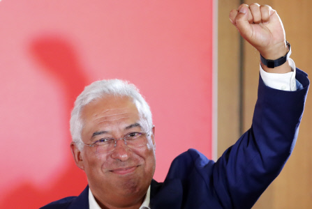 EL SOCIALISTA ANTONIO COSTA GANA LAS ELECCIONES EN PORTUGAL
