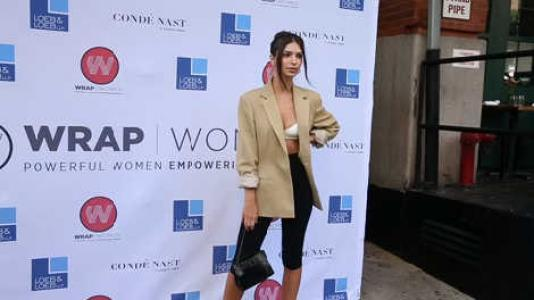 "(SPLASH) EMILY RATAJKOWSKI EN ""WRAPWOMEN POWER WOMEN BREAKFAST IN NYC"""