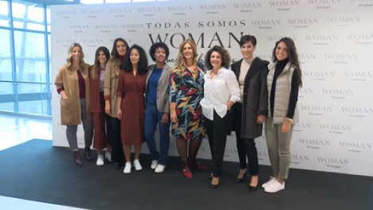 PRESENTACIÓN DE LA NUEVA CAMPAÑA DEL CORTE INGLÉS WOMAN